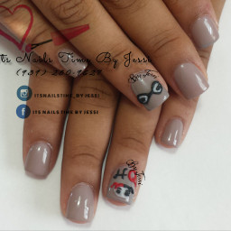harleyquinn 3dnailart acrylicnails bettinacolor delicatenails
