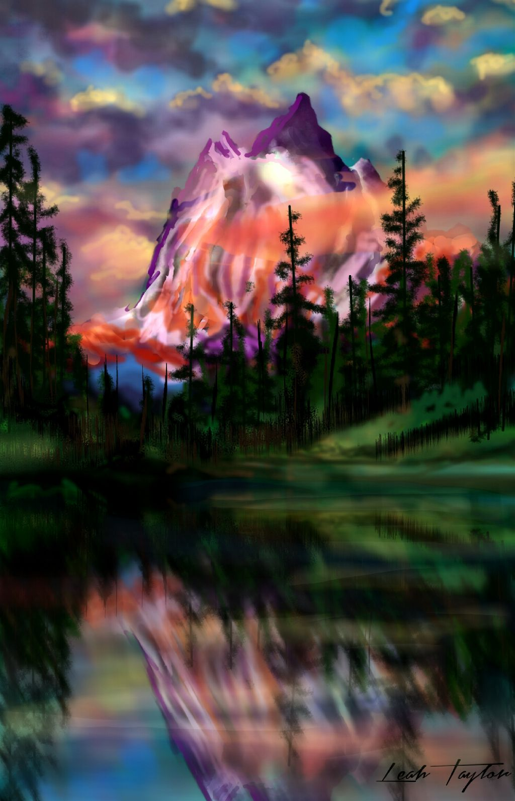 Dcmountains majestic see the drawing video www youtube com watch