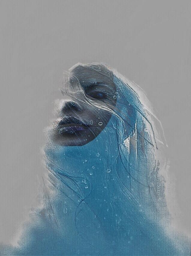 #woman #veil #photography #monochrome