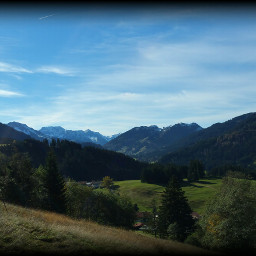 bavarian mountains autumn nature