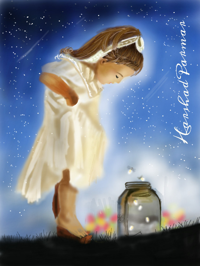 #dcmagic #innocent child#fire flies ...hope u all like it. Thanx in advance for likes, votes & repost if any.