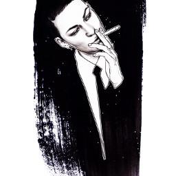 illust illustration drawing draw pencil pencilsketch sketch face beauty fashionillustration art artwork hair