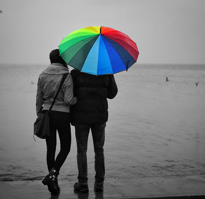 #beach #emotions #love #people #photography #sea #blackandwhite