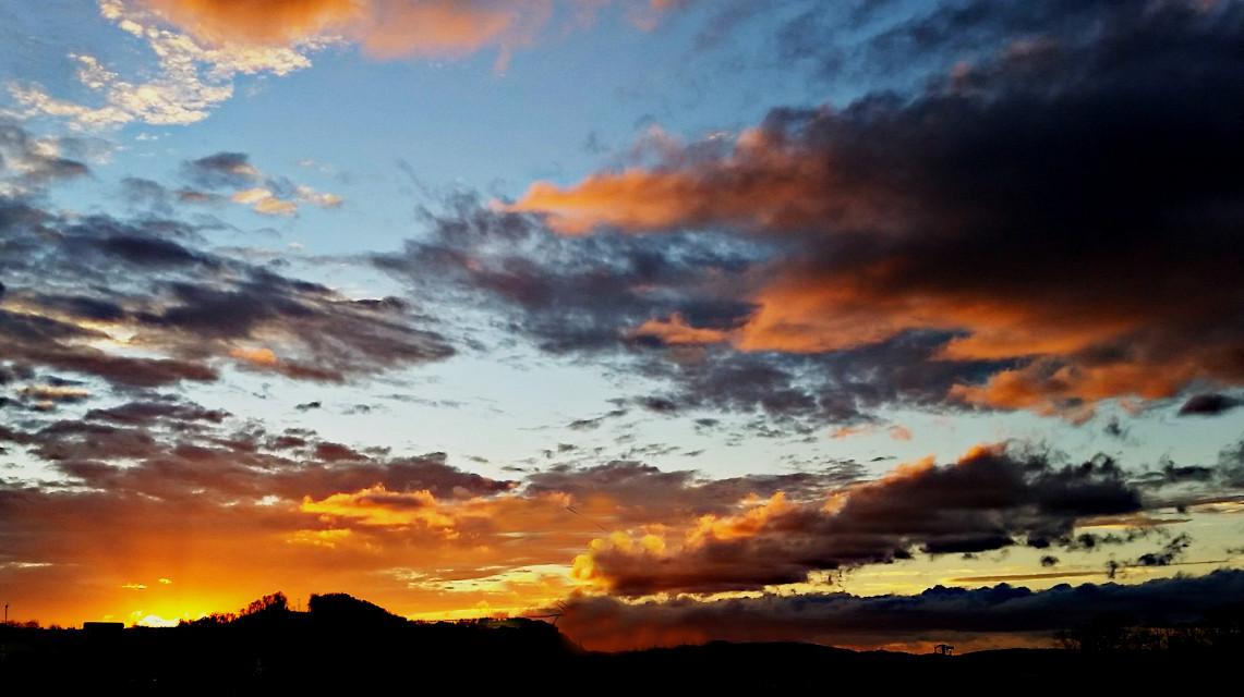 Mountaineer Sunset #FarAway #freetoedit #photography #nature #colorful  #sunset