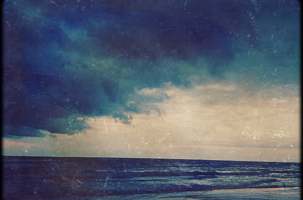 Blue skies at South Padre Island #sky #vibrant #blue #beach #nature #sea #texturemask #clouds