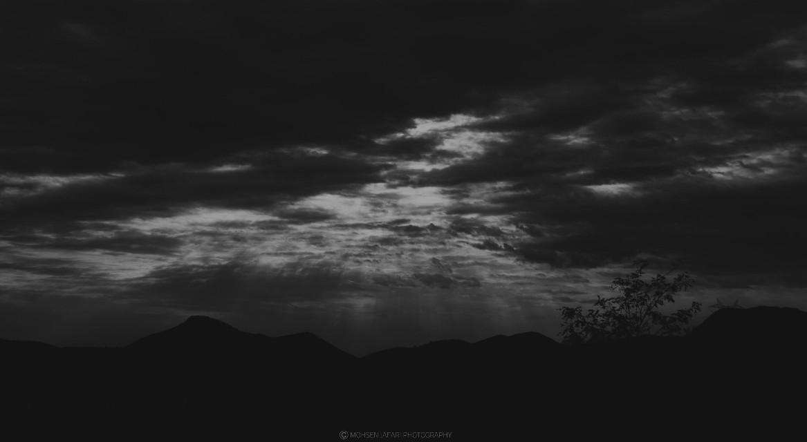 #sky #blackandwhite #iran #black&white  @mohsen.insta #nature
