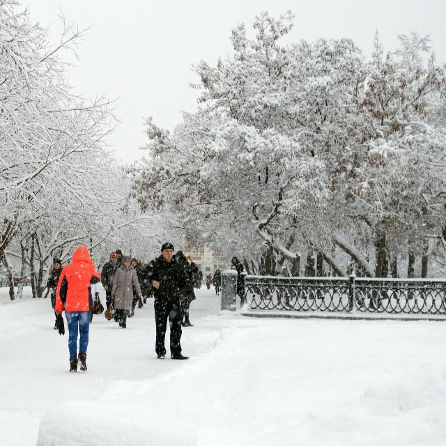 #winter #people #snow