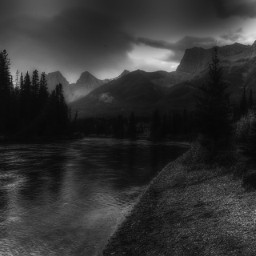 photography nature blackandwhite canmore canada
