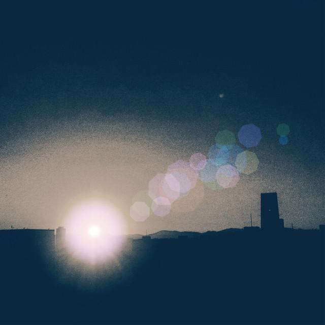 #Sun #flare #sunset #picart #tlatelolco #mysun