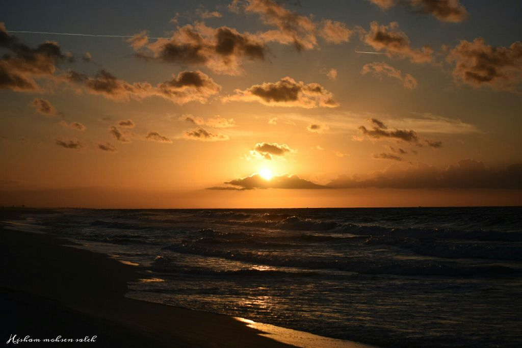 #sunset #winter #nature