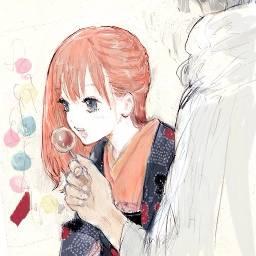 anime animegirl cute kawaii cakepop