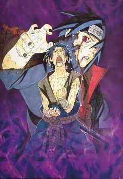 itachi sasuke uchiha