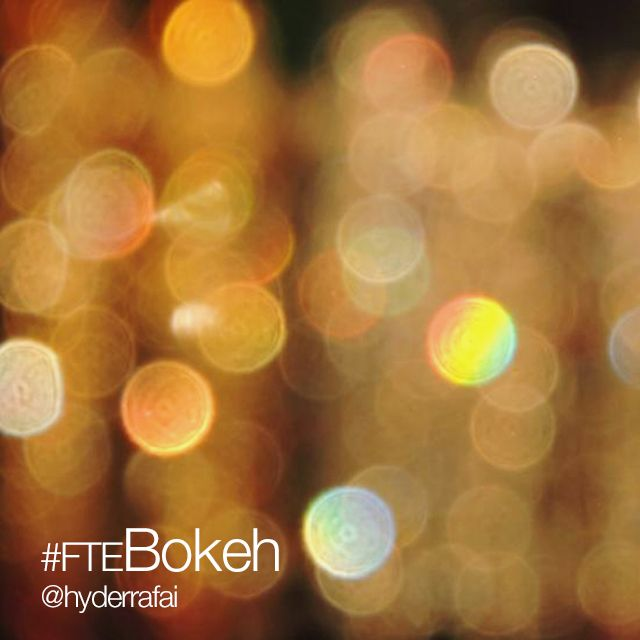 bokeh photo effect