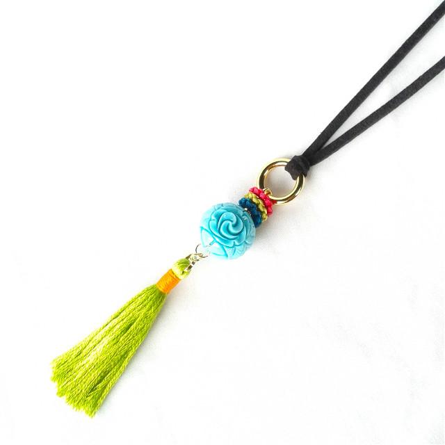 #necklace #color #mix #tassel