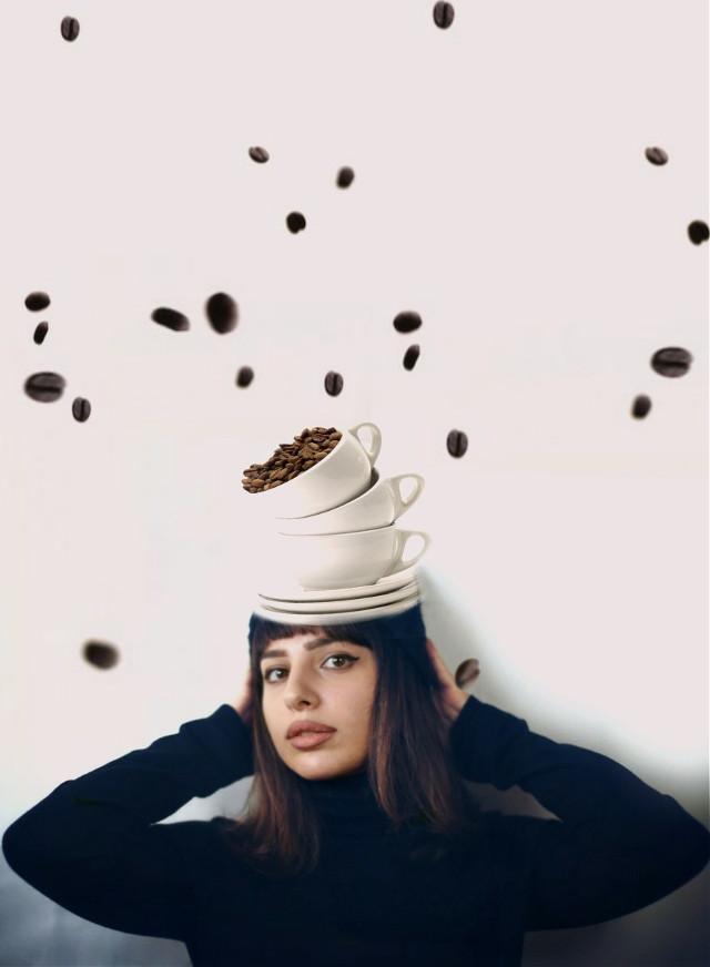 It's raining coffee beans!!! Everyone grab your cups LOL My edit for @hrantkhachatryan #freetoedit #edited #art #surreal #myart #madewithpicsart  #coffeecup  #coffeecupart  #coffeetime  #coffee