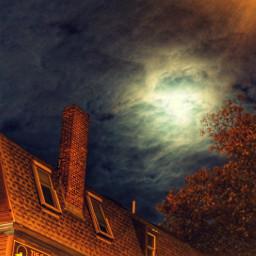 salem moonlight night