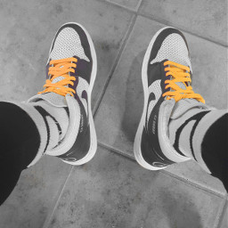 shoegame aj1 yellow sneakerhead