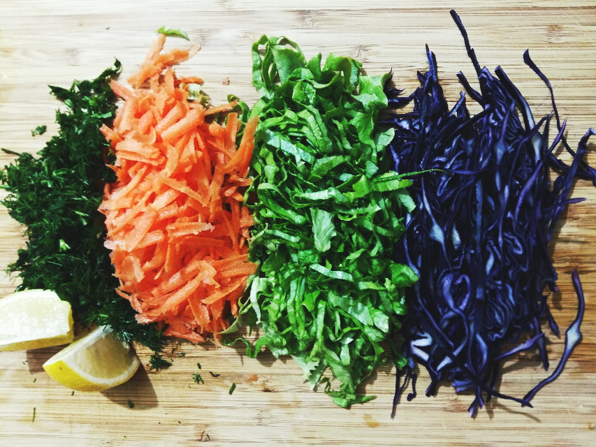 #picsart #vegitables #colorcontrast #salad #dailyinspiration