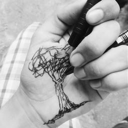 hands blackandwhite