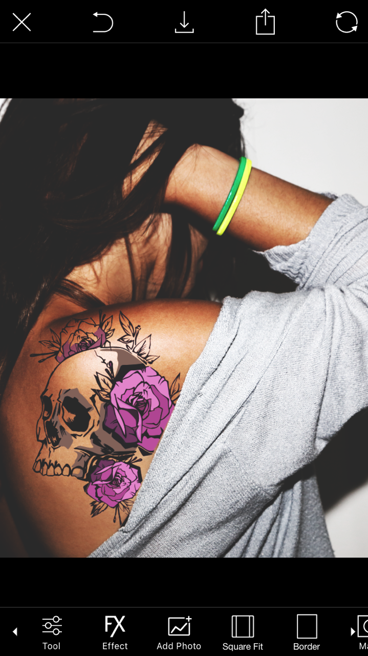 Get A Pain Free Tattoo With PicsArt