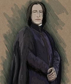 wdppicasso digitaldrawing drawing snape harrypotter