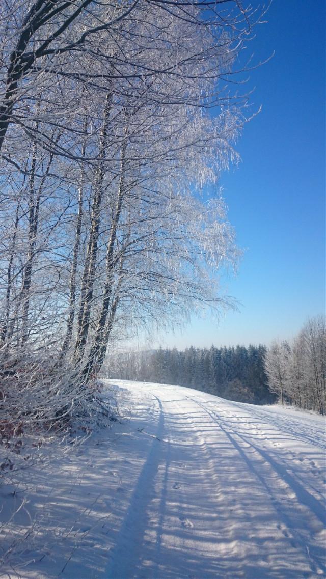I love snow♥♥