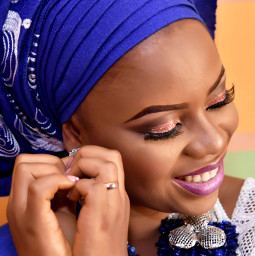bride african wedding
