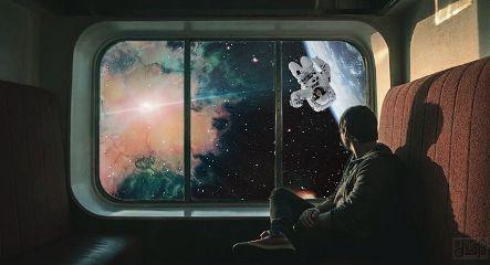 freetoedit surrealism planet galaxy sky
