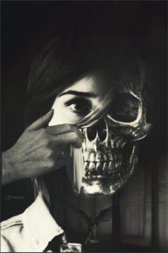 masks darkart artisticselfie freetoedit inspiration