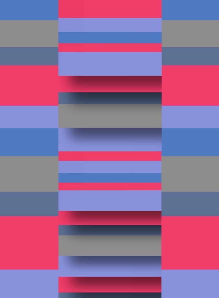 #abstract #stripe #colour #blue #red