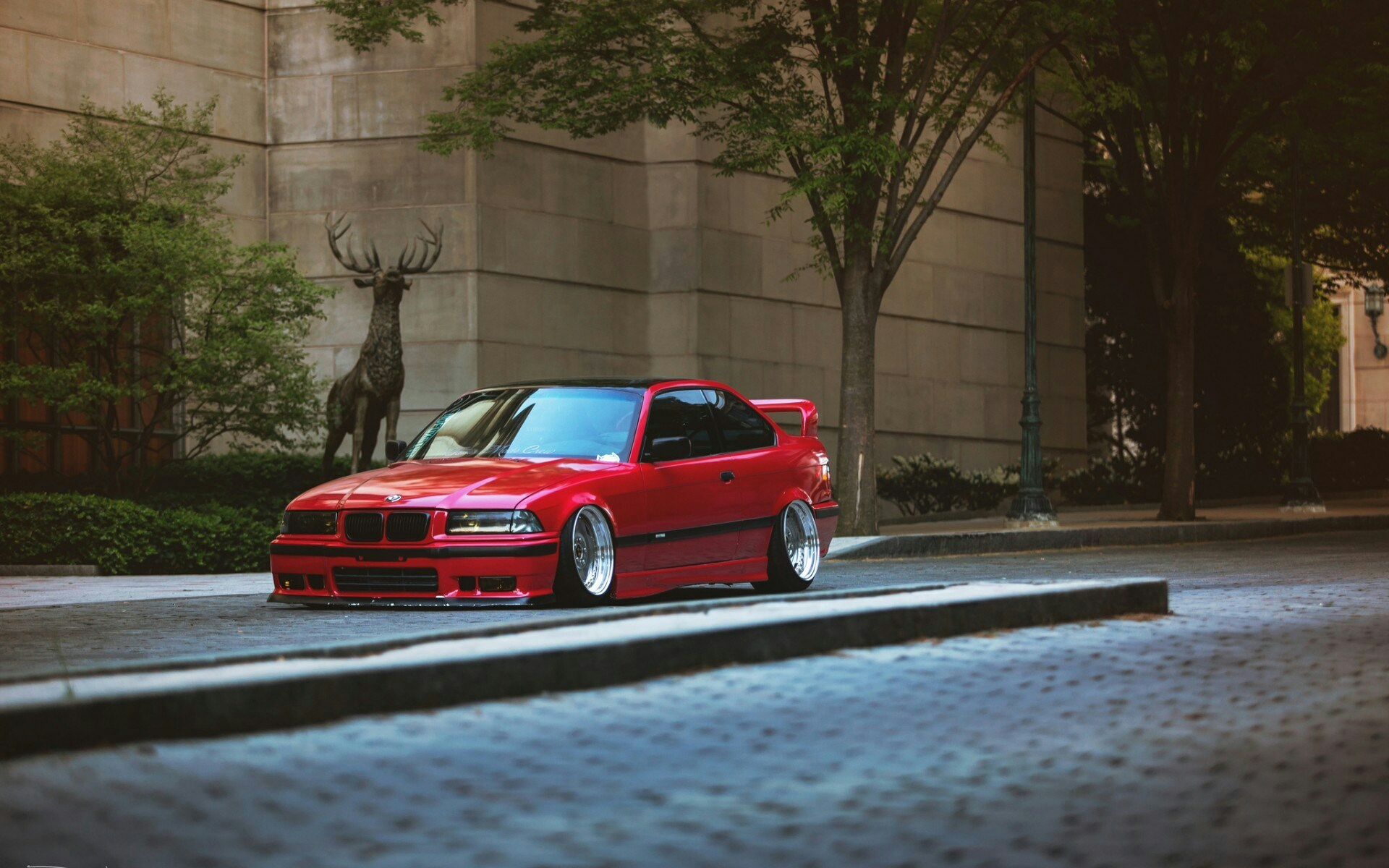 Bmw E36 M3 Red Devil Mpower Cars Image By Yasar