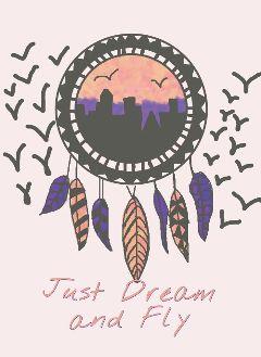 dreamcatcher art sky fly dream