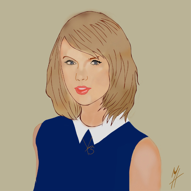 #interesting #art #taylorswift #drawing #outline