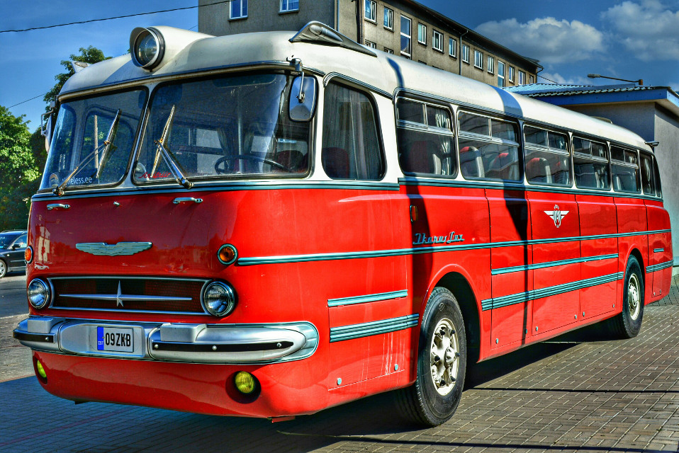 Old bus. Ikarus Lux (1953 - 1972) #cars #retro