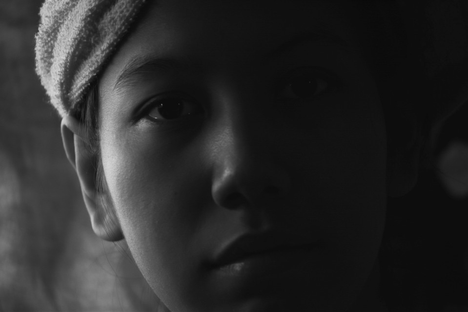 #blackandwhite  #face   #love  #photography  #people  #simple