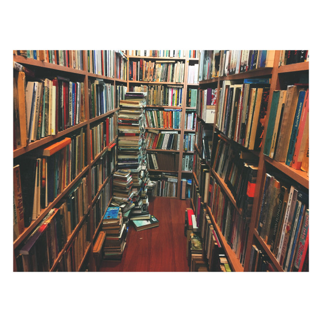 """""""I declare after all there is no enjoyment like reading! How much sooner one tires of any thing than of a book! -- When I have a house of my own, I shall be miserable if I have not an excellent library.""""  -pride and prejudice   #books #library #colorful #wood"""