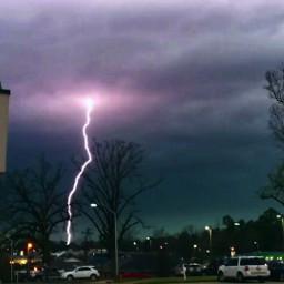 nature storms lightning dark