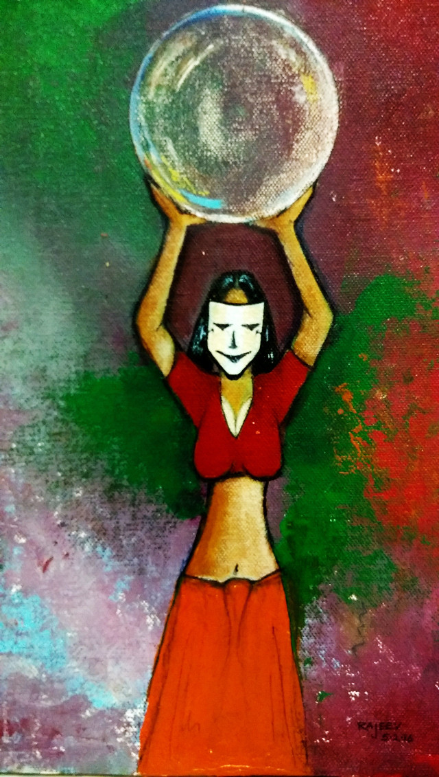#wdpwomenportraits #colorful #colorsplash #cute #emotions #love #nature #people #pencilart #photography #vintage #sepia #photography #fortune#ball#women#carrying#burden#global#world#happy#sacrifice#commendable#art#artist#painting#acrylic#canvas#spatula#brush#abstract#modern#creative#creativity#vibrant#lady#beautiful
