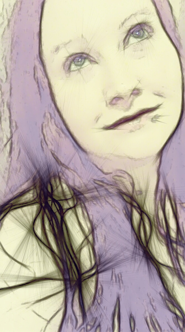 Draw me like one of your French girls....   #colorsplash #cute #emotions #nature #people #photography #popart #spring #eyes #selfportrait #portrait #woman #sketchyedit