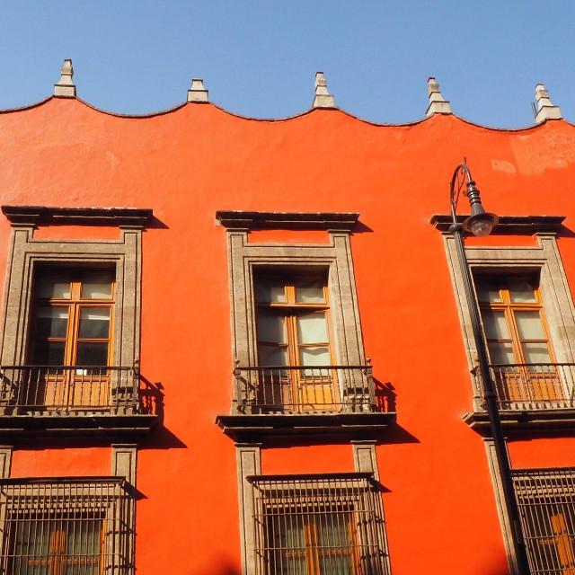 Orange & Blue #mexicocity #travel #interesting