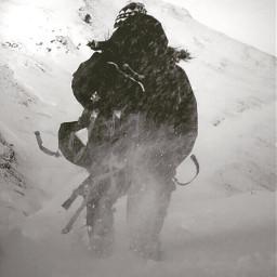 hiking adventure mountains mountainscape mountaineering