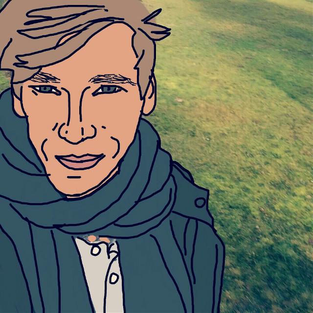 Phil #portrait  #Digitalportrait #drawingoverphoto  #edited #drawing