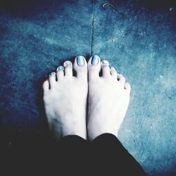 nail legs drama cute purplepaint