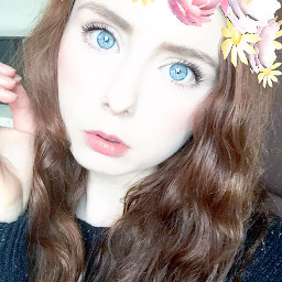 snapchat filter selfie effect flowercrown