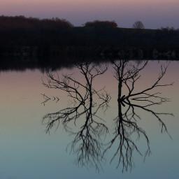 freetoedit lake reflection colours