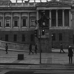 blackandwhite emotions people photography travel vienna art austria bw edited city