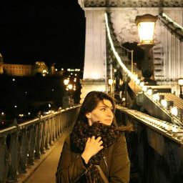 night lights chain bridge love
