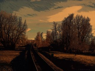 landscape dailyinspiration paphotochallenge ruthfeiertag traintracks